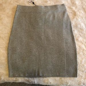 BCBGeneration Grey Skirt
